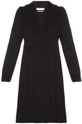 ISABEL MARANT ÉTOILE Neil V-neck crepe dress $490 thestylecure.com