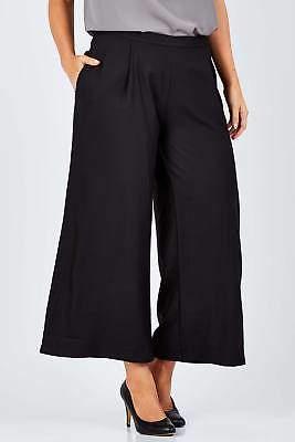 NEW bird by design Womens Pants The Wide Leg Pants Black Bottoms