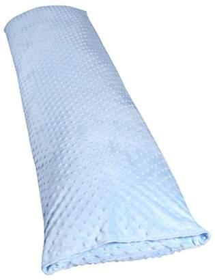 Clair De Lune Dimple Bedtime Support Pillow/Bolster (Blue)