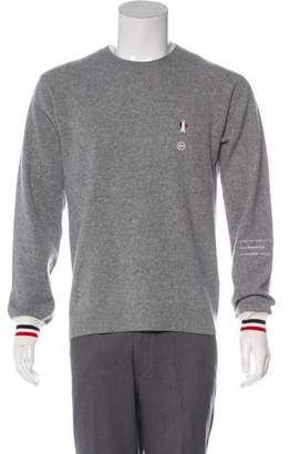 Moncler x Fragment Design Virgin Wool and Cashmere Crew Neck Sweater