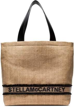 Stella McCartney (ステラ マッカートニー) - Stella McCartney ロゴ ウーブン トートバッグ