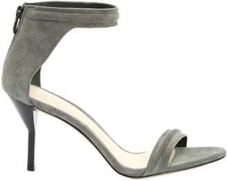 3.1 Phillip Lim Grey Suede Sandals