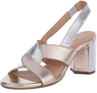 Seychelles Odds and Ends Metallic Heeled Sandals