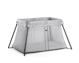 BABYBJÖRN Play Yard Light Travel Crib, Silver