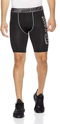 Goodsport Men's Compression Moisture-Wicking Training Shorts S