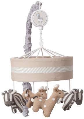 Lambs & Ivy Elias Zebras & Giraffes Musical Nursery Mobile