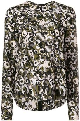 Marni Marken print blouse