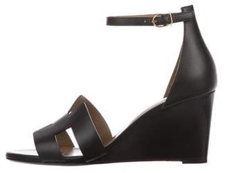 Hermes Legend Wedge Sandals