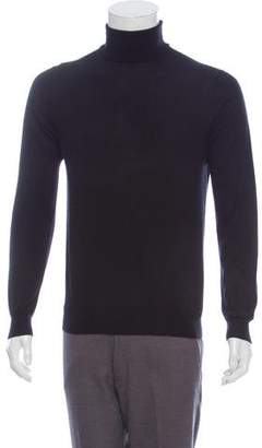 Prada Cashmere and Silk-Blend Turtleneck Sweater