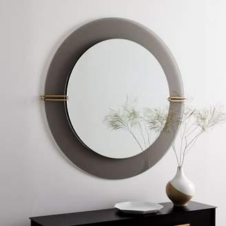 west elm Dapper Glass Wall Mirror
