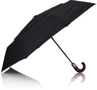 Barneys New York Men's Wind-Resistant Folding Umbrella