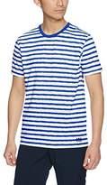 Helly Hansen (ヘリー ハンセン) - (ヘリーハンセン)HELLY HANSEN アウトドア 半袖Tシャツ ショートスリーブ ボーダーT HO61703 [メンズ] HO61703 B9 BDブルー M