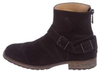Belstaff Distressed Suede Boots