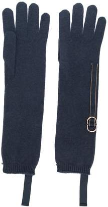 Brunello Cucinelli bead-embellished gloves