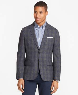 Brooks Brothers Plaid Wool-Cashmere Sport Coat