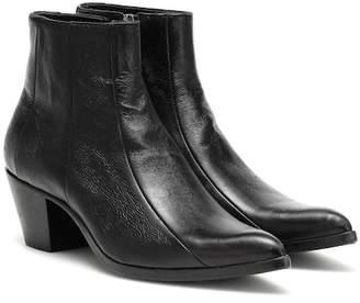 Saint Laurent Finn leather ankle boots
