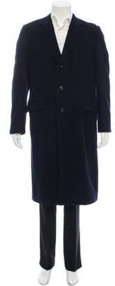 Prada Cashmere Button-Up Coat
