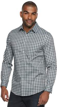 Apt. 9 Men's Stretch No-Iron Woven Button-Down Shirt