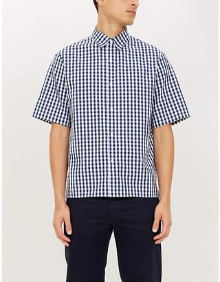 Sandro Gingham regular-fit cotton shirt