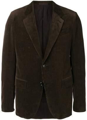 Ermenegildo Zegna corduroy lined blazer