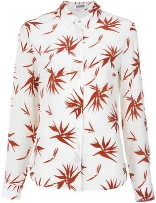 Tufi Duek foliage print silk shirt