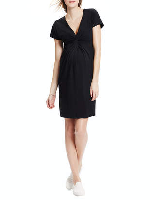 Hatch Twist Dress