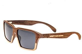 Earth Wood Piha Polarized Wayfarer Sunglasses