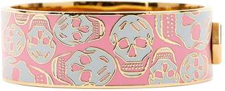 Alexander McQueen Pink Metal Bracelet
