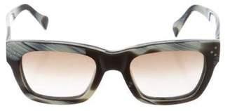 Celine Gradient Square Sunglasses