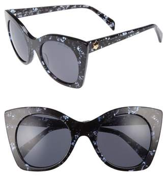 Draper James 51mm Geometric Sunglasses