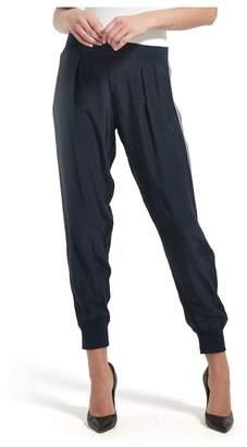 ATM Anthony Thomas Melillo Stripe Silk Sweatpants