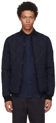 Kenzo Reversible Navy Down Blouson Jacket