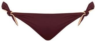 Solid & Striped The Jane Bikini Briefs - Womens - Burgundy