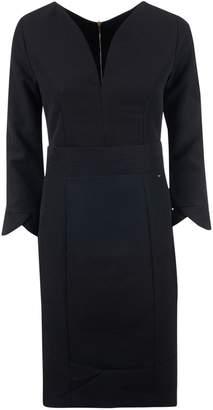 Armani Collezioni V-neck Dress