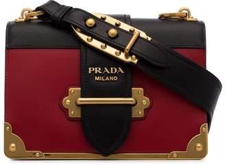 Prada red classic cahier shoulder bag