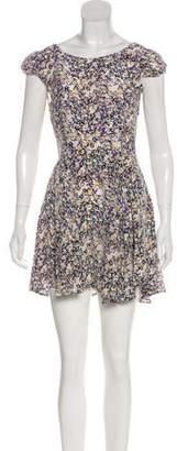 Patterson J. Kincaid PJK Printed Mini Dress