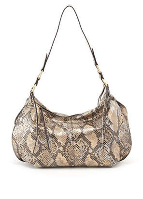 At Tiques Hobo Bags Lennox Snake Print Bag