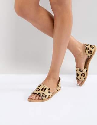 Asos Design JOVENA Leather Summer Shoes