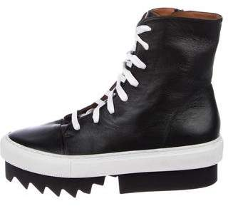 Givenchy High-Top Platform Ankle Boots