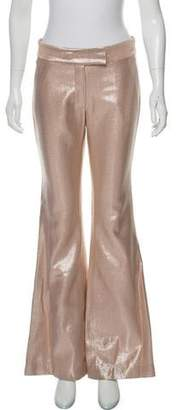Rachel Zoe Metallic Flare Pants w/ Tags