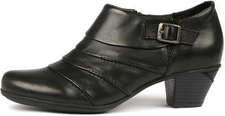 Earth Dawn-ea Black Boots Womens Shoes Ankle Boots