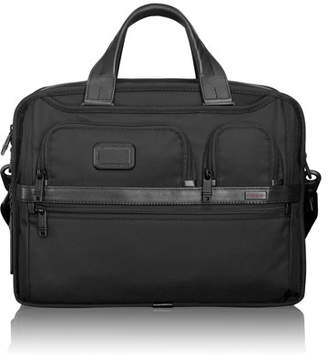 Tumi Alpha 2 Black Expandable Organizer Laptop Brief