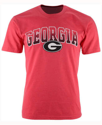 Colosseum Men Georgia Bulldogs Gradient Arch T-Shirt
