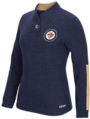 Reebok Winnipeg Jets Shawl Collar Pullover