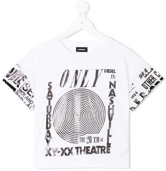 Diesel all over print T-shirt