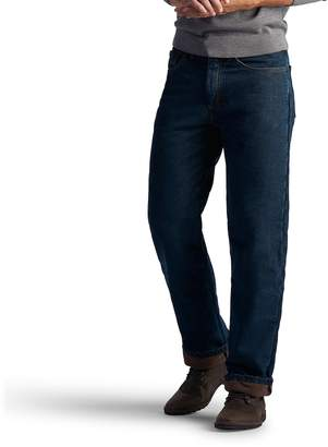 Lee Boys 8-20 Flannel-Lined Straight-Leg Jeans