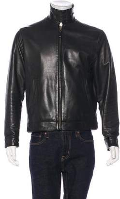 Polo Ralph Lauren Leather Zip-Up Jacket