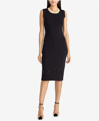 Rachel Roy Camilla Ribbed-Knit Dress