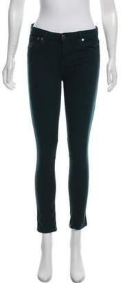 Helmut Lang Mid-Rise Skinny Jeans