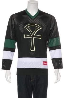 Supreme 2018 Ankh Hockey Jersey T-Shirt w/ Tags
